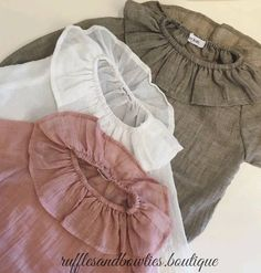 How gorgeous are these ruffled blouses?! Be sure to check out Tahlia's post just before this one to see these beautiful tops in action! Perfect for pairing with your favourite fall shorties jeans and skirts!  Pre-orders now available