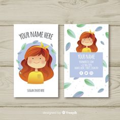 Discover thousands of free-copyright vectors on Freepik Art Business Cards, Free Business Card Templates, Branding Your Business, Business Card Design, Identity Branding, Visual Identity, Flyer Design, Corporate Design, Brochure Design