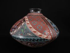 Mata Ortiz Pottery Jar - Signed & Dated