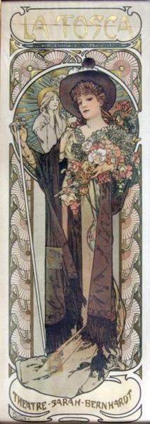 Alphonse Mucha, 1899.