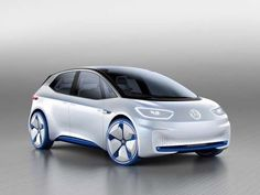 20. Volkswagen unveiled its 'revolutionary' electric concept car, the ID, that it says can get a ran... - Volkswagen