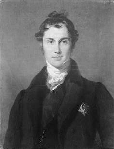 By Sir Thomas Lawrence - George Hamilton-Gordon, 4th Earl of Aberdeen was born on 1784 at Edinburgh, Scotland. He was the son of George Gordon, Lord Haddo & Charlotte Baird. He married, firstly, Lady Catherine Elizabeth Hamilton, daughter of Sir John James Hamilton, 1st Marquess of Abercorn & Catherine Copley, 1805 at Bentley Prior, London, England.He married, secondly, Harriet Douglas, daughter of Hon. John Douglas & Lady Frances Lascelles, 1815. He died 1860 at age 76 at Argyll House…
