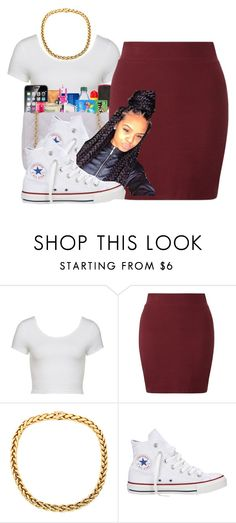 """""""Untitled #135"""" by kaykay47 ❤ liked on Polyvore featuring Converse"""