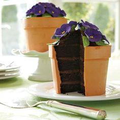 African Violet cake..... This is legit! (Jennifer Browning)