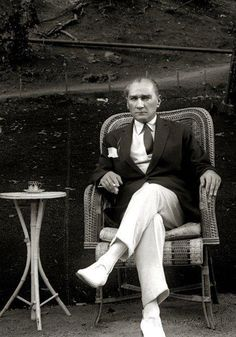 Mustafa Kemal Atatürk - the hero who saved the Turkish people from the ottoman empire. He is also founder of Republic of Turkey and was the first president.