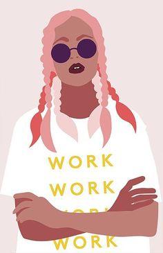 Fight Negativity - How To Interact With People work work work activist inspired illustration Art And Illustration, Portrait Illustration, Portraits Illustrés, Posca Art, Graphic Art, Graphic Design, Arte Pop, Art Design, Black Art
