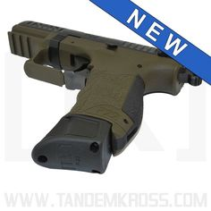 """""""Wingman"""" Magazine Bumper for Walther® Walther P22, Springfield Armory, Cool Magazine, Good Grips, American Made, Hand Guns, Pistols, Consistency, Zombies"""