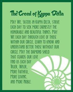 Kappa Delta creed