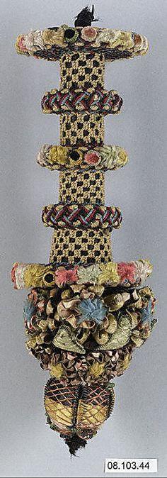 Metropolitan Museum of Art - France 1600–1800 A.D ; French Tassel; 18th c; silk & metal thread.