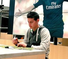 james rodriguez at adidas headquarters 2015