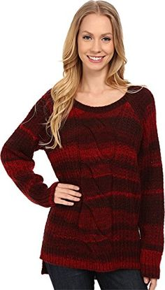 c4bf1f3885 Calvin Klein Jeans Women s Ombre Cable Crew Neck at Amazon Women s Clothing  store