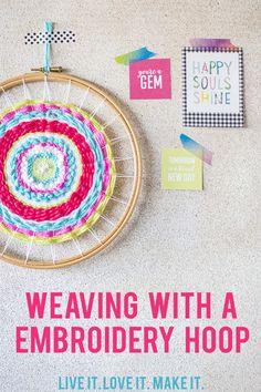 Live it . Love it . Make it.: Make it: Weaving in the Round