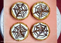 Protein Treats By Nicolette : Cinnamon Pumpkin Protein Cookies: Halloween Edition  use sugar-free white chocolate and chocolate chips, low carb flour blend  such as one of splendids instead of oat or wheat flour