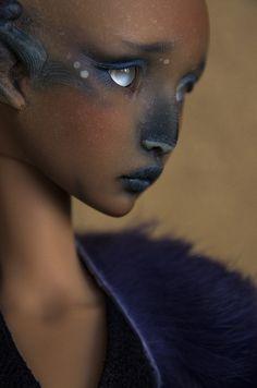 Fantasy | Whimsical | Strange | Mythical | Creative | Creatures | Dolls | Sculptures | Desolation | por Nymrah