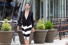Happy Hour :: Black Tux & Mint Stripe