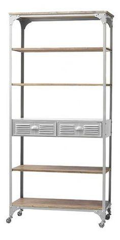 The Design Depot - GE Tall shelf White APR