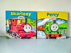Thomas the tank engine book,Thomas book, children's book, English, Steam train, collectible, Skarloey, Percy. Thomas The Tank, The Rev, Steam Engine, Magpie, Paperback Books, Cottage Chic, I Am Happy, Bookmarks