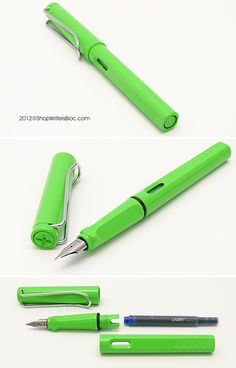 LAMY Safari Limited Edition Fountain Pen - Green