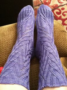 Ravelry: Coriolis Effect Socks pattern by verybusymonkey