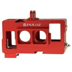 PULUZ GoPro Accessories Wholesale from China, factory prices, online Wholesaler and Dropshipper - PULUZ 2 in 1 Housing Shell CNC Aluminum Alloy Protective Cage with Lens Frame for GoPro HERO4 /3+(Red)