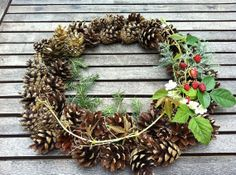 Pine ConesNatural Pine ConesReal Pine ConesWreath by CodettiSupply, $6.00