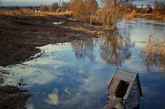 Весеннее половодье на реке Дубна.
