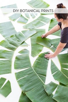 How To: Make Large-Scale Botanical Prints On The Cheap