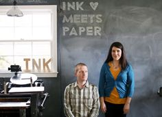 Ink Meets Paper - Wonderful letterpress stationary made by my awesome brother Daniel and his beautiful wife Allison! Paper Press, Beautiful Wife, Letterpress Printing, Make Art, Mixed Media Art, Etsy Store, Meet, Ink, Creative