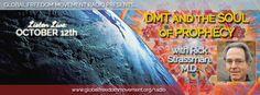 Rick Strassman live on Global Freedom Movement Radio #dmt #consciousness