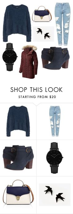 """Untitled #24"" by carleediane ❤ liked on Polyvore featuring MANGO, Topshop, Cole Haan, CLUSE, Aspinal of London and SOREL"