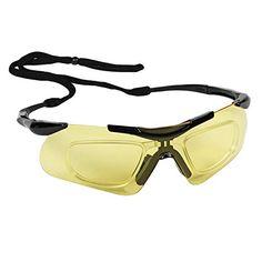 Buy Jackson Safety Nemesis Safety Glasses with Rx Inserts OTG Protective Glasses, Amber Anti-Fog Lenses, Black Frame, 12 Pairs / Case Eye Protection, Lenses, Amber, Jackson, Safety, Pairs, Sunglasses, Frame, Black