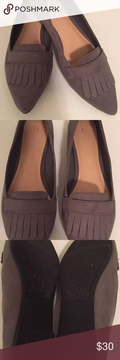 Lauren Conrad Suede Flats Worn once. Great comfy shoe. LC Lauren Conrad Shoes Flats & Loafers