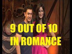 Katrina Kaif - I give Aamir Khan 9/10 for ROMANCE in DHOOM 3.