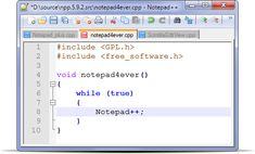 Notepad++ 6.7.6 PORTABLE Notepad++ is a free source code editor which supports several programming languages running under the MS Windows environment. #computers #software #freeware
