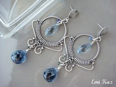 Wire Art earrings