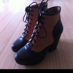 Jeffrey Campbell boots via modcloth.