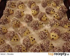 Vánoční cukroví - ořechoví ježci
