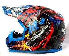 Masei 315 M Plus Motocross ATV DOT Dirtbike Helmet BLUE M L XL XXL