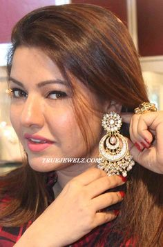 True Jewelz: Designer Diamond and Pearl Chand Bali's