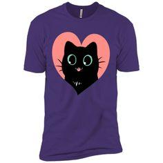 I Heart Black Cats! (Fun Edition) T-Shirt