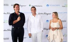 Ferragamo hosted a trio of events at Casa de Campo Resort & Villas to raise money for children's charities. Salvatore Ferragamo, the late designer's grandson, introduced 60 guests to his family's wine—Il Borro. The next morning 34 teams participated in a golf tournament, and later a group sat down to dinner and a runway presentation.