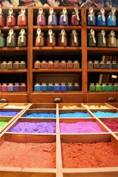 Venice shop selling artist's pigments - L'Arcobaleno - Topic