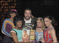 """Joey Fatone, host of NBC's """"The Singing Bee"""" and former 'N Sync member, attended Viva ELVIS™ by Cirque du Soleil® on Tuesday, February 1."""
