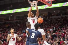Arkansas Shows Out In Win Over Oral Roberts | Arkansas Razorbacks