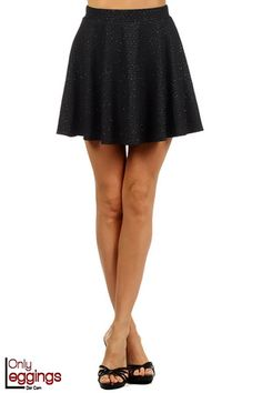 3b1619978de2 Acute Charm Skater Skirt - $28.00 at OnlyLeggings.com - #onlyleggings