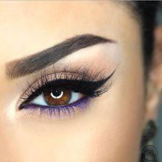 Gorgeous Makeup: Tips and Tricks With Eye Makeup and Eyeshadow – Makeup Design Ideas Gorgeous Makeup, Pretty Makeup, Love Makeup, Sleek Makeup, Makeup 101, Makeup Geek, Eyeshadow Looks, Eyeshadow Makeup, Hair Makeup