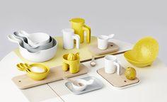 Ole Jensen's colourful tableware collection for Room Copenhagen