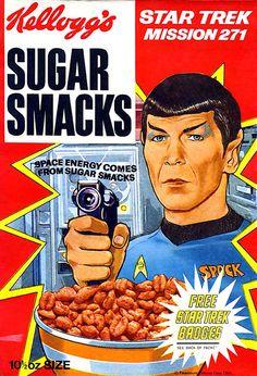 Star Trek Spock, Star Trek Tos, Dr Spock, Star Wars, Leonard Nimoy, Retro Ads, Vintage Ads, Vintage Food, Retro Food