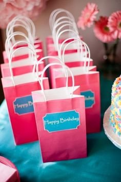 hot-pink-birthday-party-favor-bags