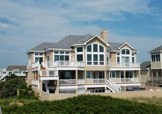 Twiddy Outer Banks Vacation Home - Sandpiper - Corolla - Oceanfront - 8 Bedrooms